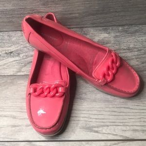 Shoes - Rockport Pink Jelly Loafers